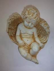 Sleeping Angel Plaque